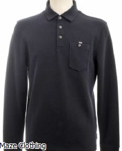 Ted Baker Akt Polo Shirt Navy