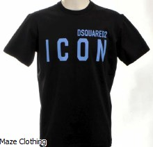 DSquared2 Big Blue Icon Logo Tee
