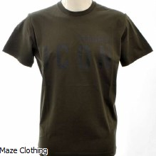 DSquared2 Big Icon Logo Tee Khaki