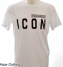 DSquared2 Big Icon Logo Tee White