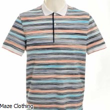 Missoni Contrast Collar Polo