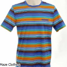 Missoni multi stripe Tee