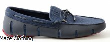 Swims Braided Lux Loafer Navy