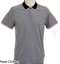 Ted Baker Caffine Polo Navy