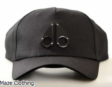 Moose Knuckles Age Logo Cap Black