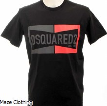 DSquared Champion T Shirt Black
