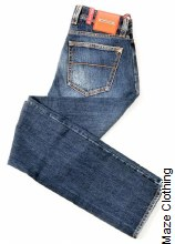 Tramarossa Cimosa Distressed Dark Jean