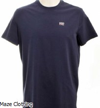 DSquared2 DSQ2 Logo Tee Navy
