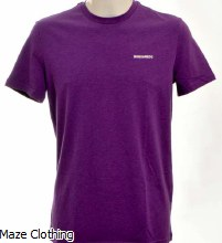 DSquared Logo t Shirt Lilac