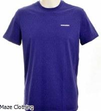 DSquared Logo t Shirt Purple