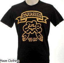 DSquared Dove T Shirt Black