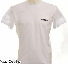 DSquared2 DSQ2 Logo Tee White