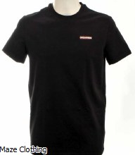 DSquared Logo t Shirt Black