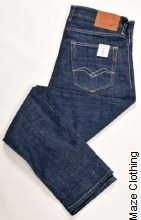 Replay Grover 356 785 Dark Jean