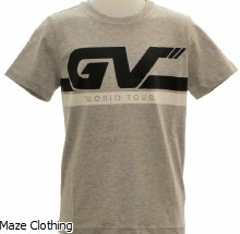 Givenchy Kids GV T Shirt Grey