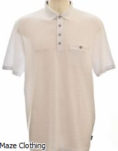 Ted Baker Hughes Polo White