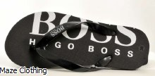 Hugo Boss Kids Flip Flop Black