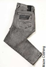 Replay Hyperflex Anbass 07B Grey Jean