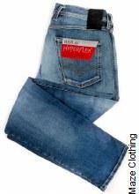 Replay Hyperflex Anbass Wash 661 033 Light Jean