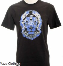 Untitled Atelier Lion T Shirt Black