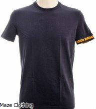 Dsquared Logo Arm T Shirt Navy