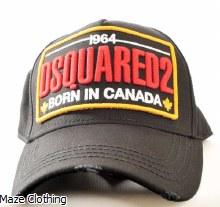 DSquared Canada Logo Cap Black