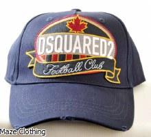 DSquared Football Logo Cap Navy