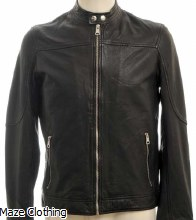 Matinique MA Adron Black Leather Jacket