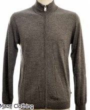 Matinique MA Mason Grey Zip Knit