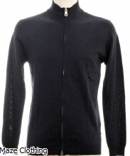 Matinique MA Mason Navy Zip Knit