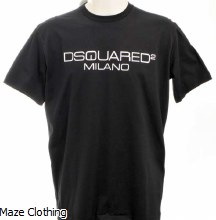 DSquared2 Milano T Shirt Black