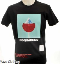 DSquared Mountain T Shirt Black
