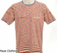Missoni Multi Stripe Knit Tee
