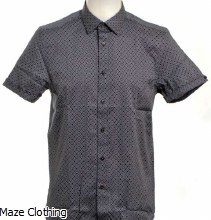 Ted Baker Namasty Shirt Navy