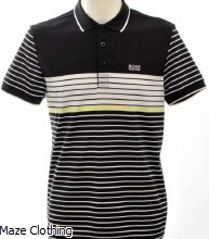 Hugo Boss Paddy 7 Polo Black