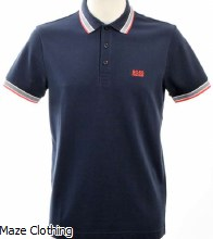 Hugo Boss Paddy Polo Shirt Navy