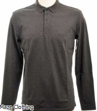 Hugo Boss Pirol Polo Charcoal