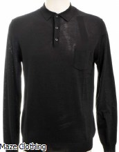 Antony Morato Knitted Polo Black