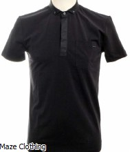Antony Morato Button Down Polo Navy