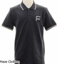 Hugo Boss Kids Polo Shirt J25 D53 Navy