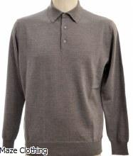 IL Telaio Polo Knit Grey