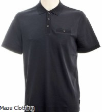 Ted Baker Pumpit Polo Navy