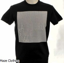 DSquared2 Reflect T Shirt Black