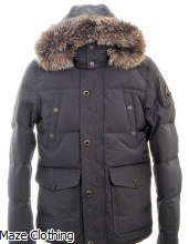 Moose Knuckles Round Island Jacket Navy