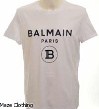 Balmain Rubber B Tee White