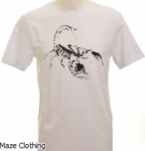 Untitled Atelier Scorpion T Shirt White