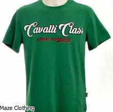 Cavalli Class Season Logo Tee Green