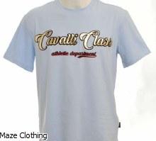 Cavalli Class Season Logo Tee Sky
