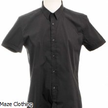 Antony Morato Short Sleeve Shirt Black