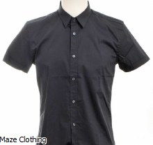 Antony Morato Short Sleeve Shirt Navy